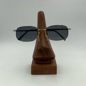 Vintage Pinnacle Montreaux Gold Oval Sunglasses